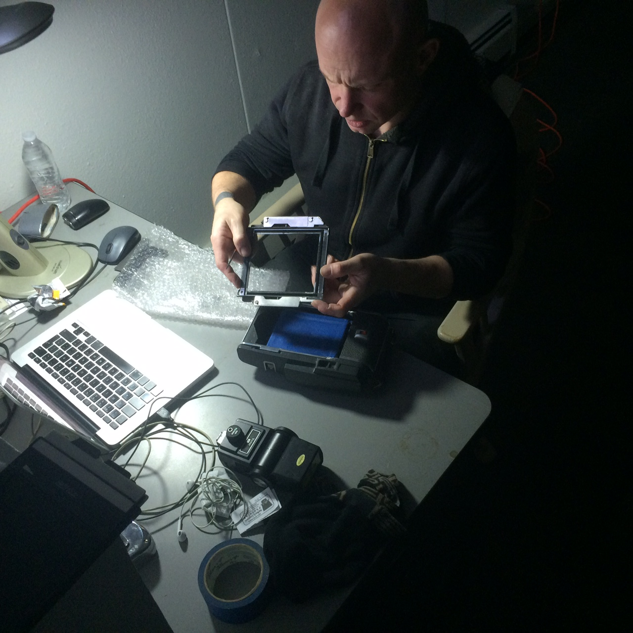 Ed Gold Converting a Polaroid to a 4×5